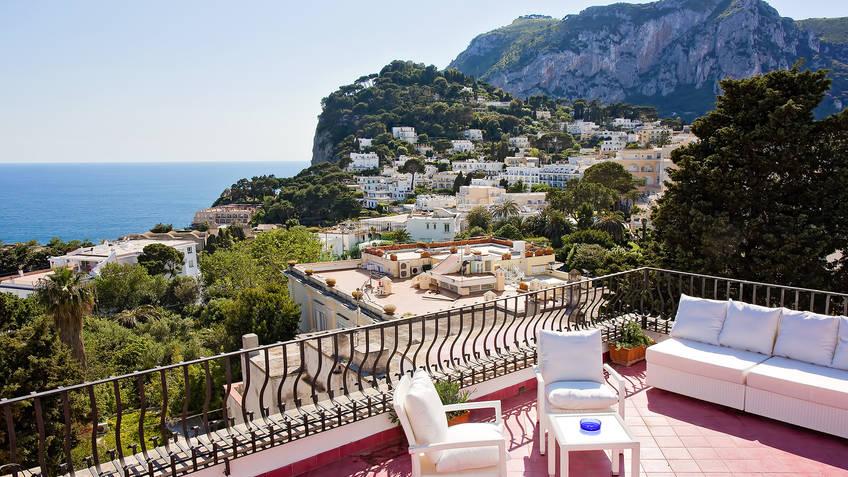 Villa Silia House rental Capri