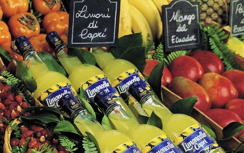 Limoncello di Capri Produtos típicos Capri