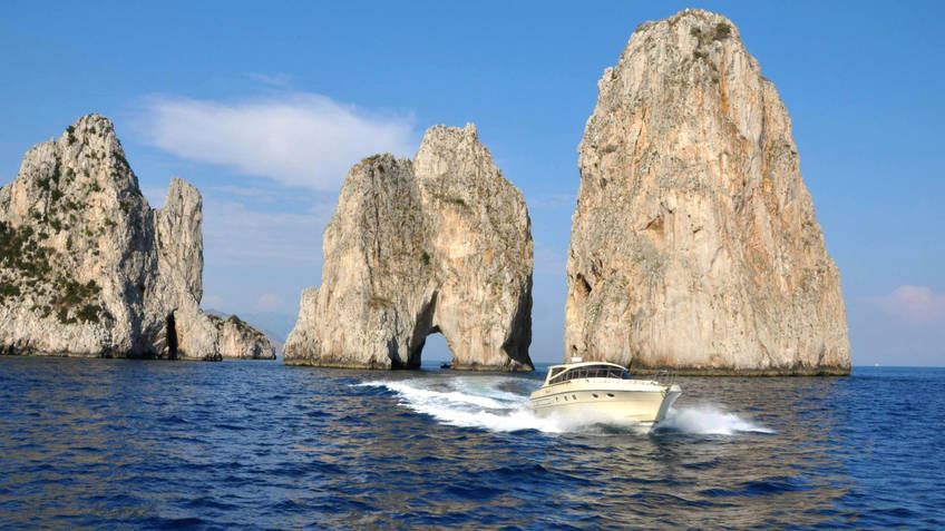 Capri Sea Service Excursions by sea Capri