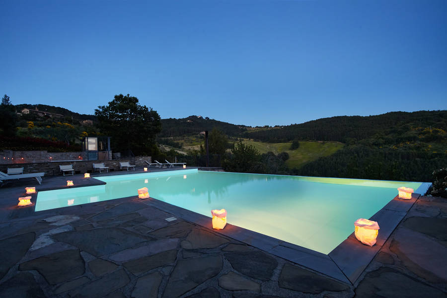 Locanda del gallo gubbio and 46 handpicked hotels in the area for Hotels in orvieto with swimming pool