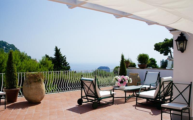 Villa La Conchiglia House rental Capri