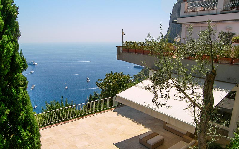 Villa La Terrazza Villa With View Capri Italy