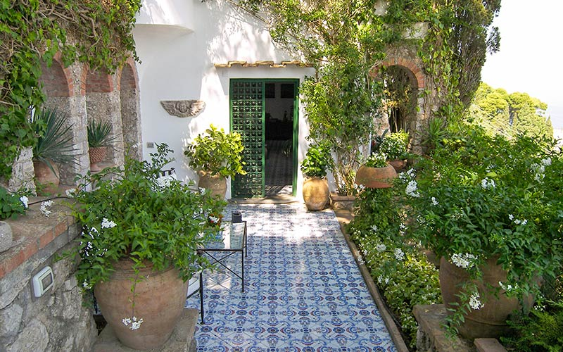 amazing villas in capri #9: ... Villa Laura Capri ...