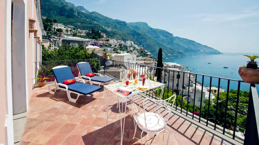 Villa Principe Giovanni B&B and Homes Positano