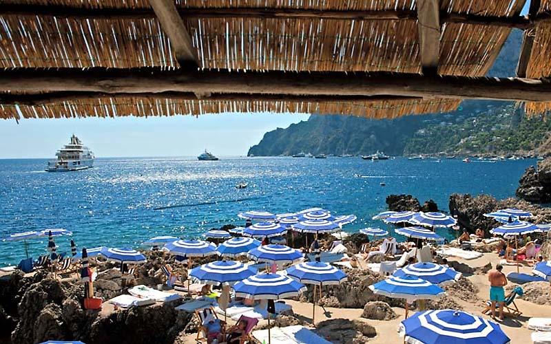 Best Lunch Restaurants Capri Italy