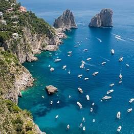Capri Blue Boats Capri