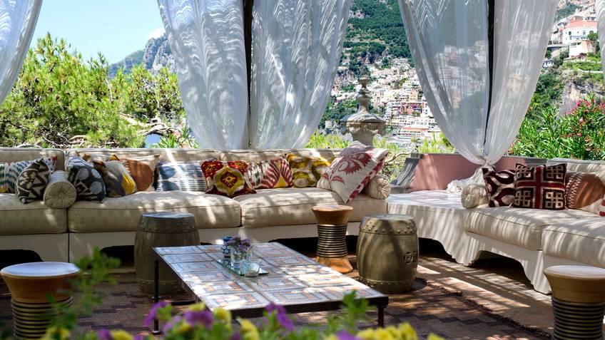 Villa Treville Hotel 5 estrelas luxo Positano