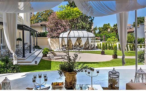 Villa fanny hotel cagliari for Best boutique hotels sardinia