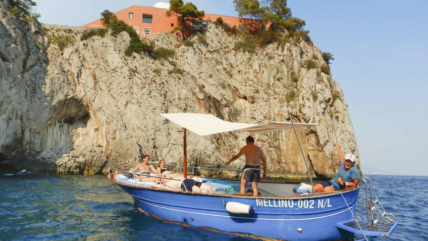Vincenzo Capri Boats Escursioni in mare Capri