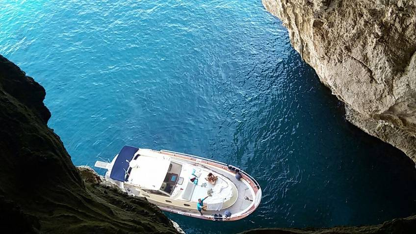 MBS Blu Charter Excursions by sea Sorrento