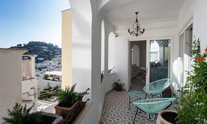 Gouache House Capri