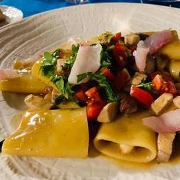 La cucina del Tramonto d'Oro Praiano