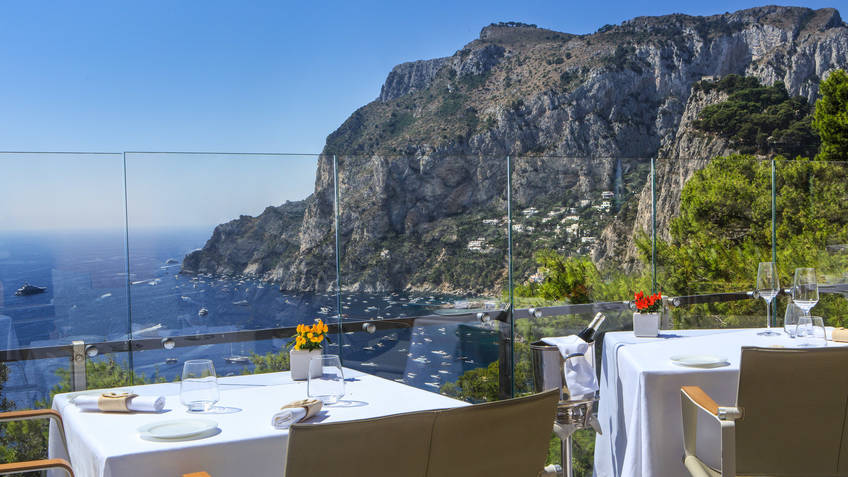 Monzù Restaurants Capri