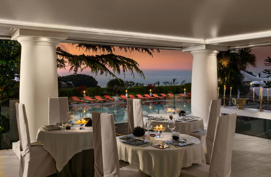 Superbe ... Capri Palace Hotel Spa Anacapri ...
