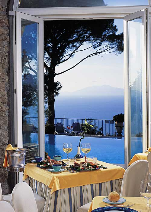 Restaurant La Terrazza Di Lucullo On Capri When Restaurants