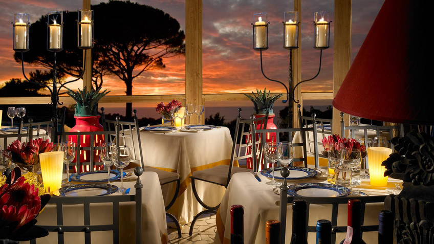 Restaurant La Terrazza di Lucullo on Capri: When restaurants have ...