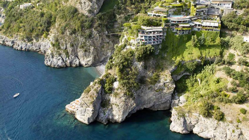 Il San Pietro di Positano Hotel 5 estrelas luxo Positano