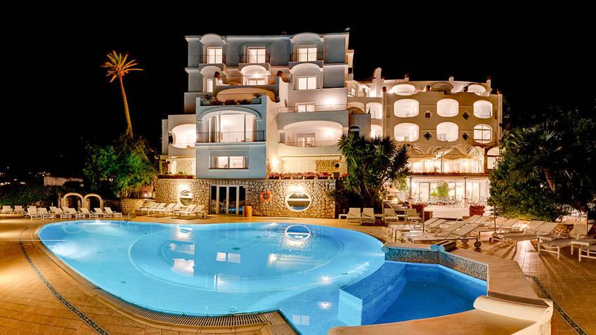 Hotel Mamela Hotel 4 estrelas Capri