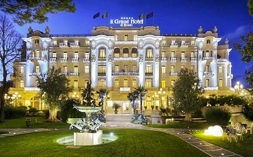 Grand Hotel Rimini 5 Star Luxury Hotels Rimini
