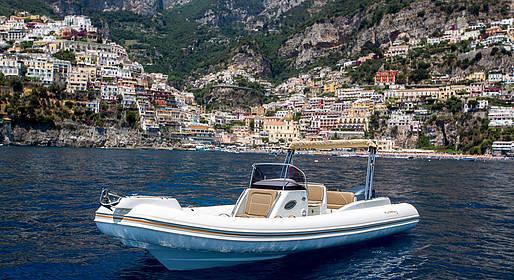 Lucibello  - Positano, noleggio gommone con patente nautica