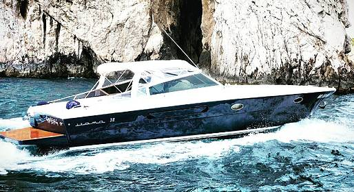 Capri Boat Service - Evening Speedboat Transfer to Nerano for Seaside Dinner