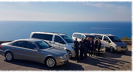 Astarita Car Service - Private Transfer Rome-Ravello/Amalfi with Pompeii Stop