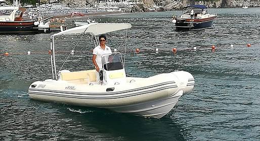 Grassi Junior Boats - Noleggio barca a Positano, senza marinaio (no patente!)