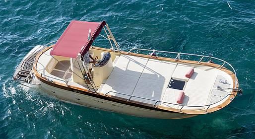 Grassi Junior Boats - Tour privato in Costiera da Positano, Praiano o Amalfi