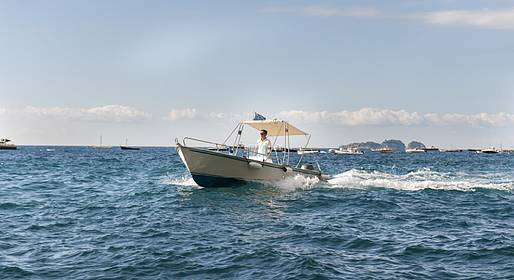 Grassi Junior Boats - Amalfi Coast boat rental without skipper (no license!)