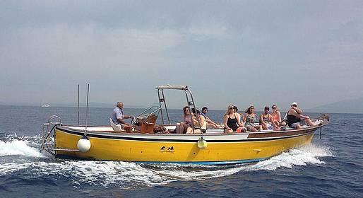 Capri Whales - Boat Tour Sorrento - Capri + Free Time on the Island
