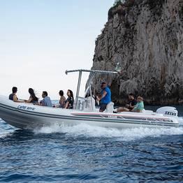 Capri Whales - Mini-Tour of Capri via 250-hp Rubber Dinghy w/ Skipper