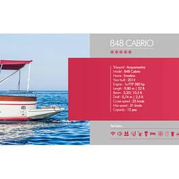 Buyourtour - Acquamarina 848 Cabrio