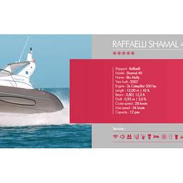 Buyourtour - Raffaelli Shamal 40