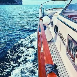 Capri Boat Service - Gozzo Fratelli Aprea 32