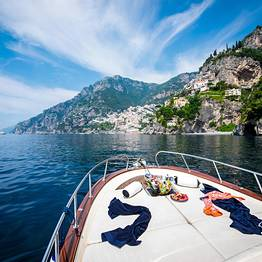 Sea Living - Intera giornata in barca privata da Positano a Capri