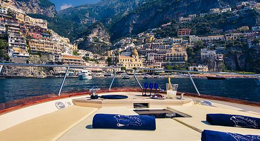 Sea Living - Transfer privato in barca da Napoli a Positano