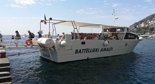 Gruppo Battellieri Costa d'Amalfi - Tour in barca alla Grotta dello Smeraldo