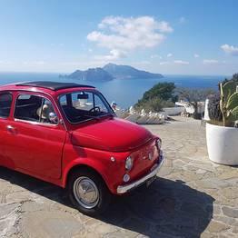 Enjoy Bike Sorrento - Sunset Photo Tour by Vintage Fiat 500