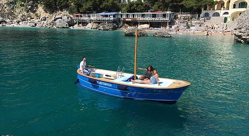 Capri Island Tour - A Wonderful Day at Sea off the Island of Capri