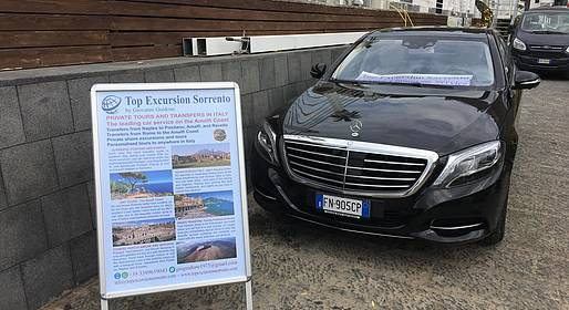 Top Excursion Sorrento - Transfer from Civitavecchia Port to Rome or Vice Versa