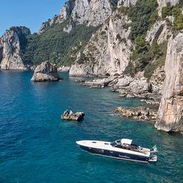 Priore Capri Boats Excursions - Itama Speedboat Tour of Capri