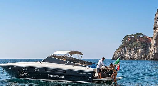 Priore Capri Boats Excursions - Speedboat Transfer Capri - Ischia (or vice versa)