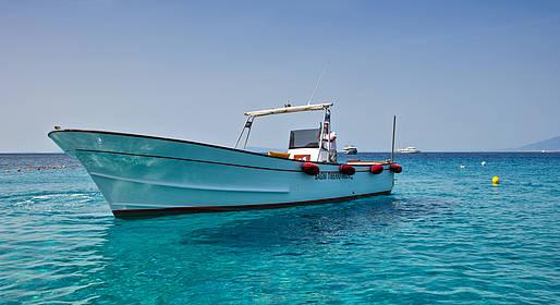 Bagni di Tiberio - Transfer in barca per cena a Nerano