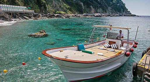 Bagni di Tiberio - Escursione in barca in Costiera
