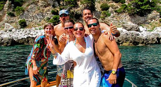 Gianni's Boat - GROUP TOUR to Capri from Sorrento 7 Hours - not private