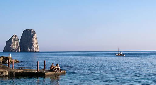 Capri Relax Boats - Half-Day Tour by Private Gozzo around the Isle of Capri