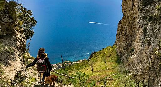 Cartotrekking - The high way of Lattari Mountains
