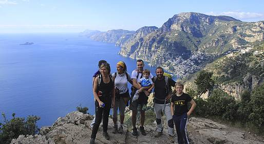 The Path of the Gods  From Agerola to Positano  Capri