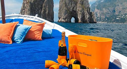 Capri 360 - Full Day Capri Boat Tour by Gozzo Boat + Nerano Lunch