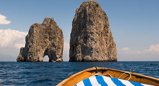 Lucibello  - Boat Tour of Capri - 8-Hour Tour - Gozzo
